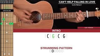 Download lagu Can't Help Falling In Love Guitar Cover Elvis Presley 🎸 Tabs + Chords 