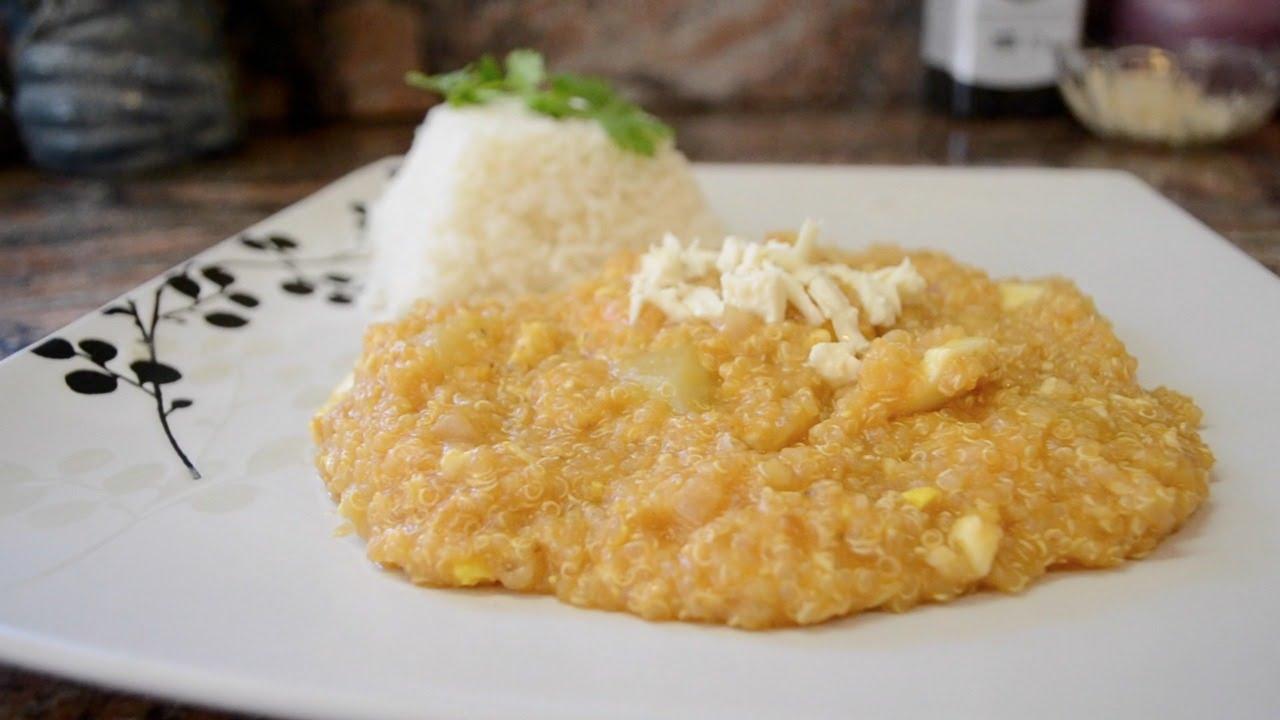 Picante de Quinoa  Cocina Tpica Peruana  YouTube