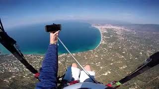 Guy Drops Phone While Paragliding - 990260