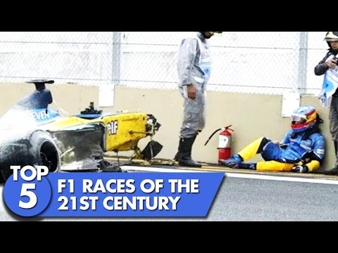 Top 5  F1 Races of the 21st Century