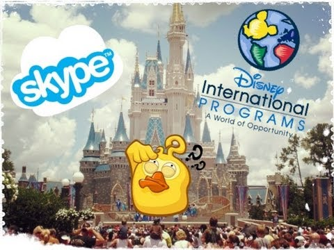CONSIGLI SULL'INTERVIEW SKYPE E COLLOQUIO  | Disney International Program