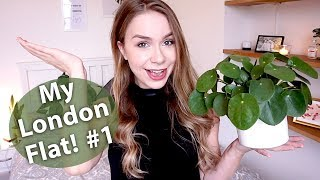 London Apartment Tour - My flat: Bedroom and Kitchen