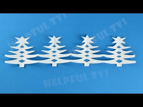 Amazing Christmas Decoration ✳ DIY paper garland Christmas Tree New Year