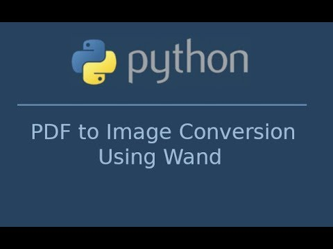 How to convert PDF to Image in Python using Wand