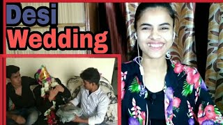 DESI WEDDING ( Revenge Gone Wrong) | Round2hell | R2h | Reaction