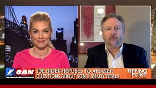 OAN Joe Biden Refuses To Answer Questions About Son's Shady Deals
