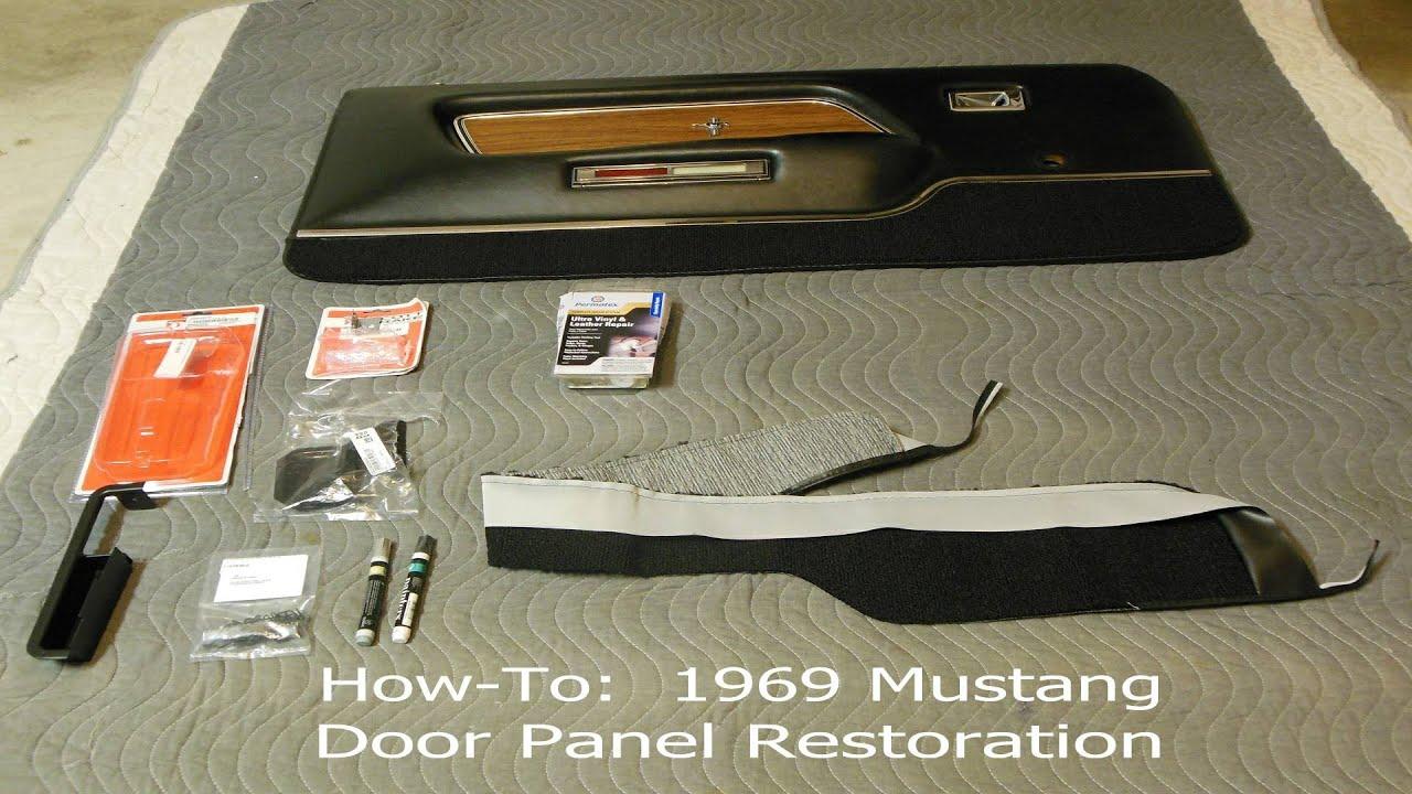 maxresdefault 1969 1970 mustang door panel restoration how to ford, mach 1 1969 mustang door diagram at bayanpartner.co