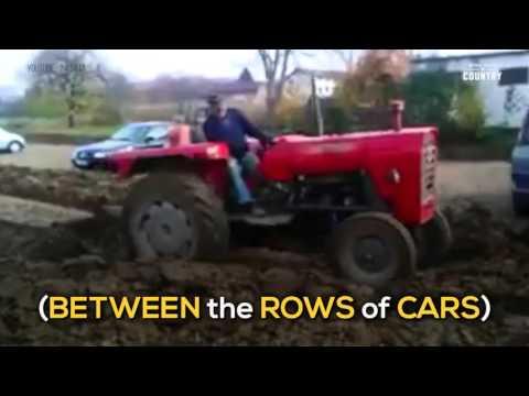 Farmer Gets Sweet, Sweet Parking Lot Revenge