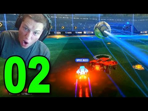 ROCKET LEAGUE - Part 2 - FIRST WIN! (Let's Play / Multiplayer Gameplay)