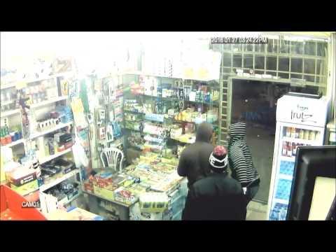 Robbery in Super Mart Riyadh Saudi Arabia