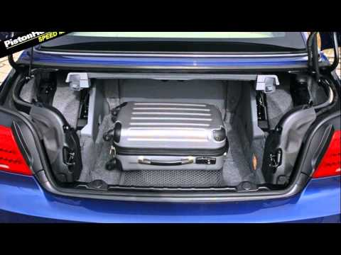 Bmw 3 Series Convertible Trunk Space Youtube