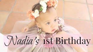BABY'S FIRST BIRTHDAY! (Secret Garden Theme)