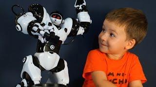 Іграшки Роботи російською. Робот Robosapien WowWee 8081. Роботи на пульті управління.