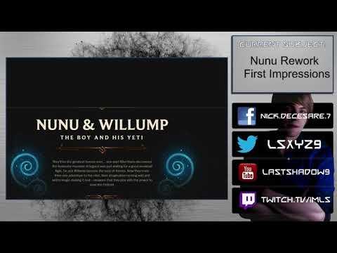 [Champion] Nunu Rework First Impressions - Olaf wants to build a snowman