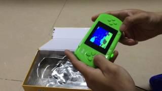 Xếp hình Tetris, máy chơi game cầm tay tuổi thơ PSP điện tử băng 4 nút Snes.