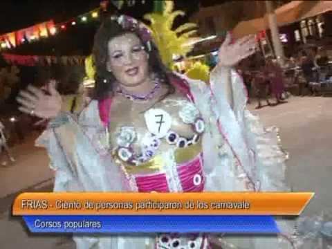 09  Frias   Ciento de personas participaron de los carnavales