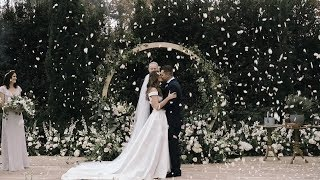 A Modern, Fun Gray Santa Barbara Wedding | Martha Stewart Weddings