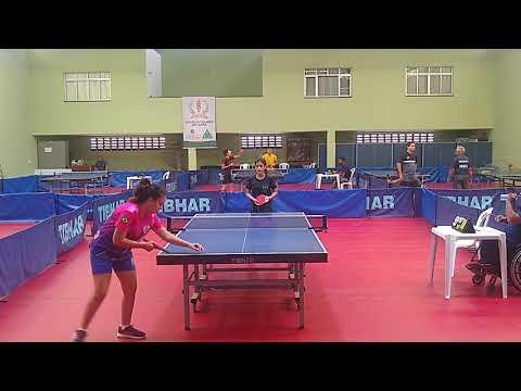Ellen Moreira (Jaguaruana) x Mayara Ferreira (Maranguape) | Jogos Escolares do Ceará 2019 - Final