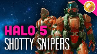 SHOTTY SNIPERS! Halo 5 Gameplay Funny Moments