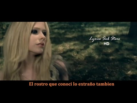 Avril Lavigne - When You're Gone Lyrics Español ( Official Video)