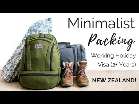 What i'm packing for 2+ years away | Pack with me, Aeronaut 45 | New Zealand WHV