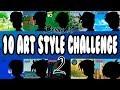 ART STYLE CHALLENGE! (Part 2) | BenkyArt