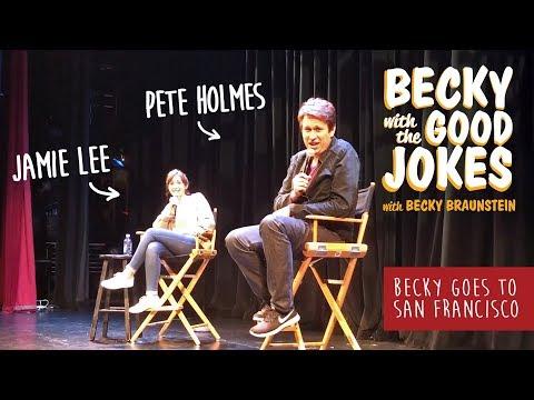 Becky with the Good Jokes — Becky Braunstein | Alaskan Comedian