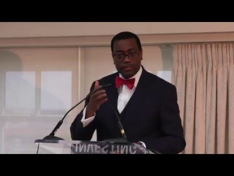 Invest in Nutrition Event - Akin Adesina, President, African Development Bank