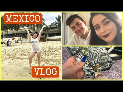 Flying to Mexico & Hotel Room Tour | TRAVEL VLOG