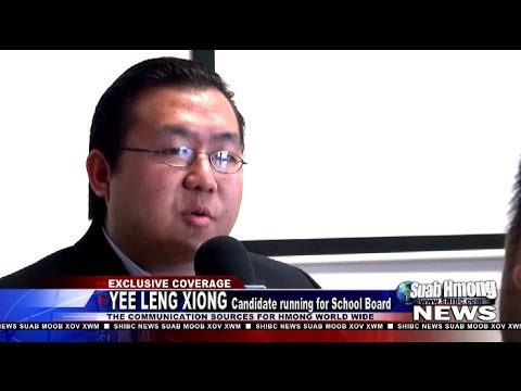 Suab Hmong News: Yee Leng Xiong, running for School Board at DC Everest School District