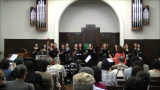 "Minami Jazz Vocal Ensemble 2012 directed by Kaoru Azuma ""L-O-V-E "" ..."