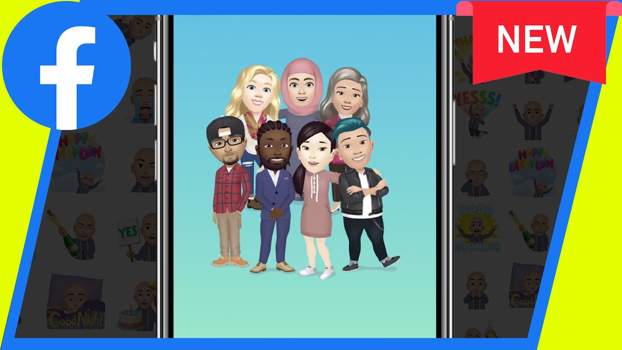 Facebook Now Has Personalized Cartoon Avatars, So Here's How ...