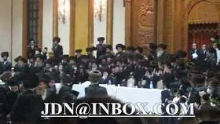 Wedding Skverer Rebbe's grandson #2