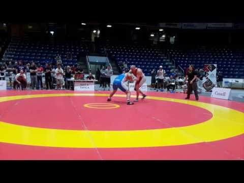 2016 Canada Cup: 125 kg Sean Molle (CAN) vs. Kyle Nguyen (CAN)