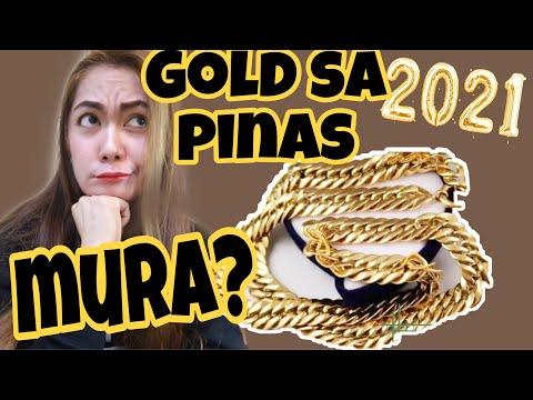 PRICE NG GOLD SA PILIPINAS MAGKANO BA? CHAIN NECKLACE AND BRACELET ANG KAKAPAL | Rosh Castillo