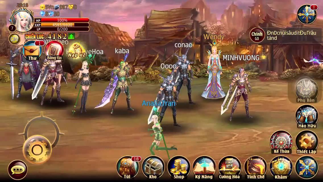 Trãi nghiệm đầu về game Quỷ Kiếm 3D Mobile [Ana Game]