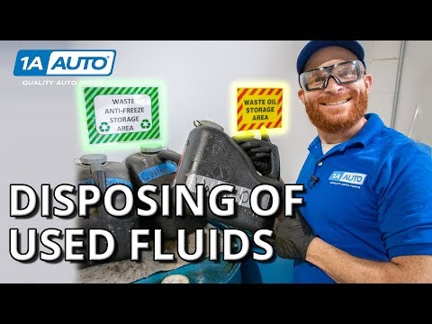 How to Recycle Used Oil and Other Fluids From Your Car, Truc