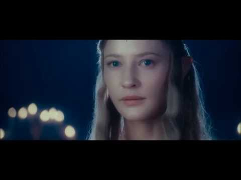 Lord of the Rings : The Fellowship Of The Ring Galadriel and Celeborn