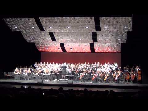 BGHS Choir & Orchestra Performs:Gloria Et in terra pax