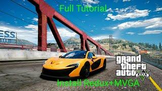 Install Redux+MVGA Together GTA 5 Very Easy 100% Working