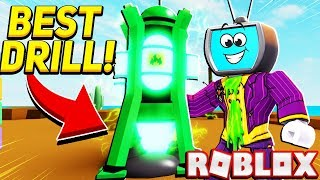 Buying The Best Drill In The Game In Roblox Drilling Simulator
