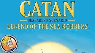 Catan: Seafarers – Legend of the Sea Robbers — game preview at Gen Con 50
