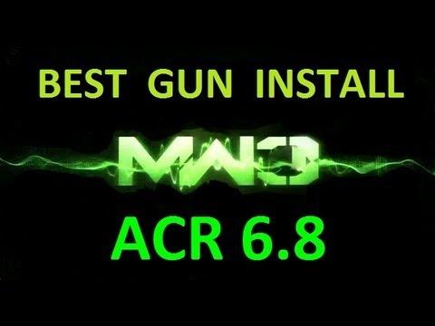 Modern warfare 3 acr6 8 quot best gun setups quot call of duty mw3