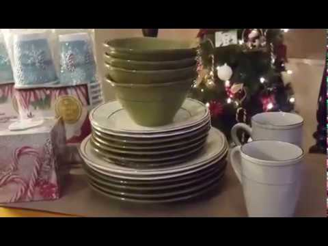 Dinnerware Clearance Haul / Stop and Shop & Dinnerware Clearance Haul / Stop and Shop - YouTube