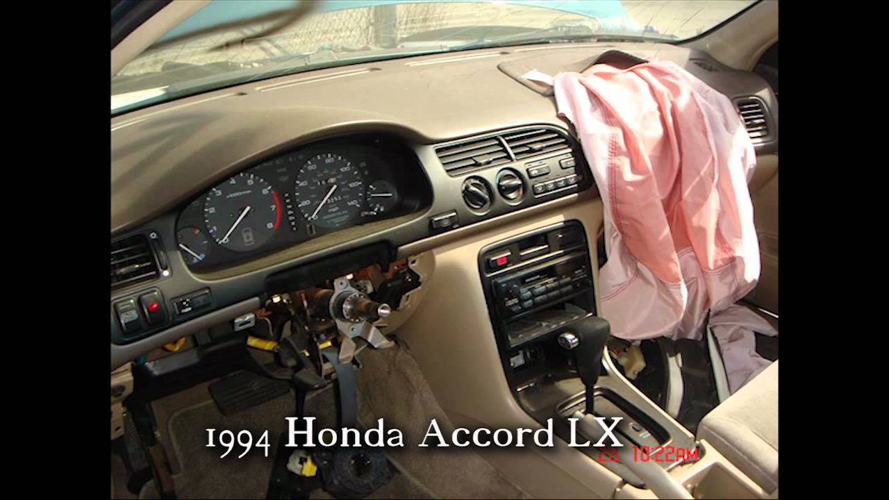 1994 Honda Accord Parts AUTO WRECKERS RECYCLERS Anhdonline.com Acura Used    YouTube