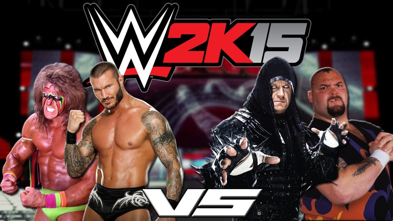 WWE 2k15: Ultimate Warrior & Randy Orton VS The Undertaker ...