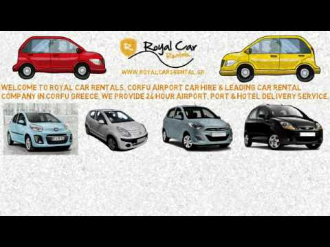 corfu port car rental