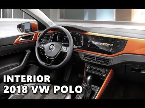 2018 volkswagen polo interior r line youtube for Interieur polo