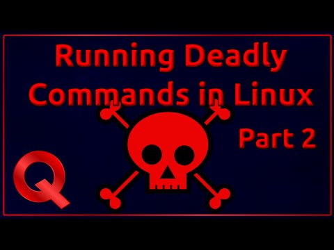 Trying out Deadly Linux Commands part 2