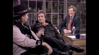 Johnny Cash & Waylon Jennings Collection on Letterman, 1983-1995